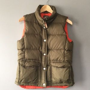 J. Crew Quilted Puffer Vest